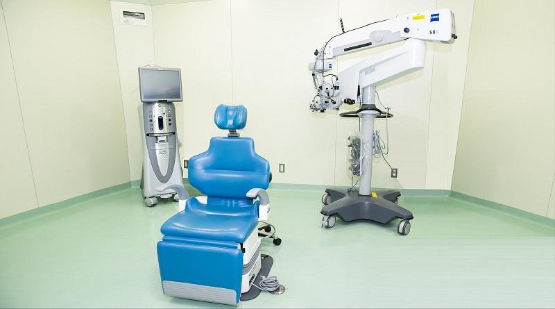 【画像】田村眼科手術スペース写真