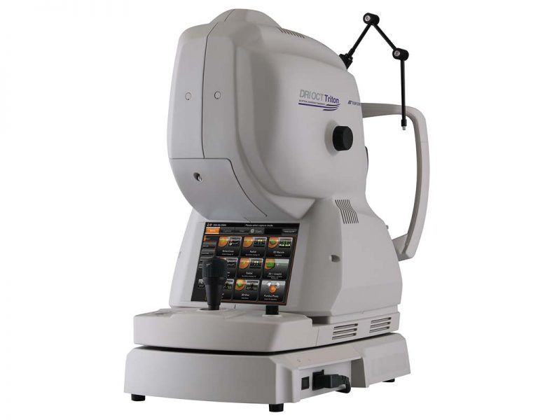 光干渉断層計 3次元眼底像撮影装置(SS-OCT)