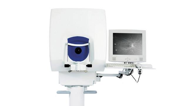 超広角走査レーザー顕微鏡