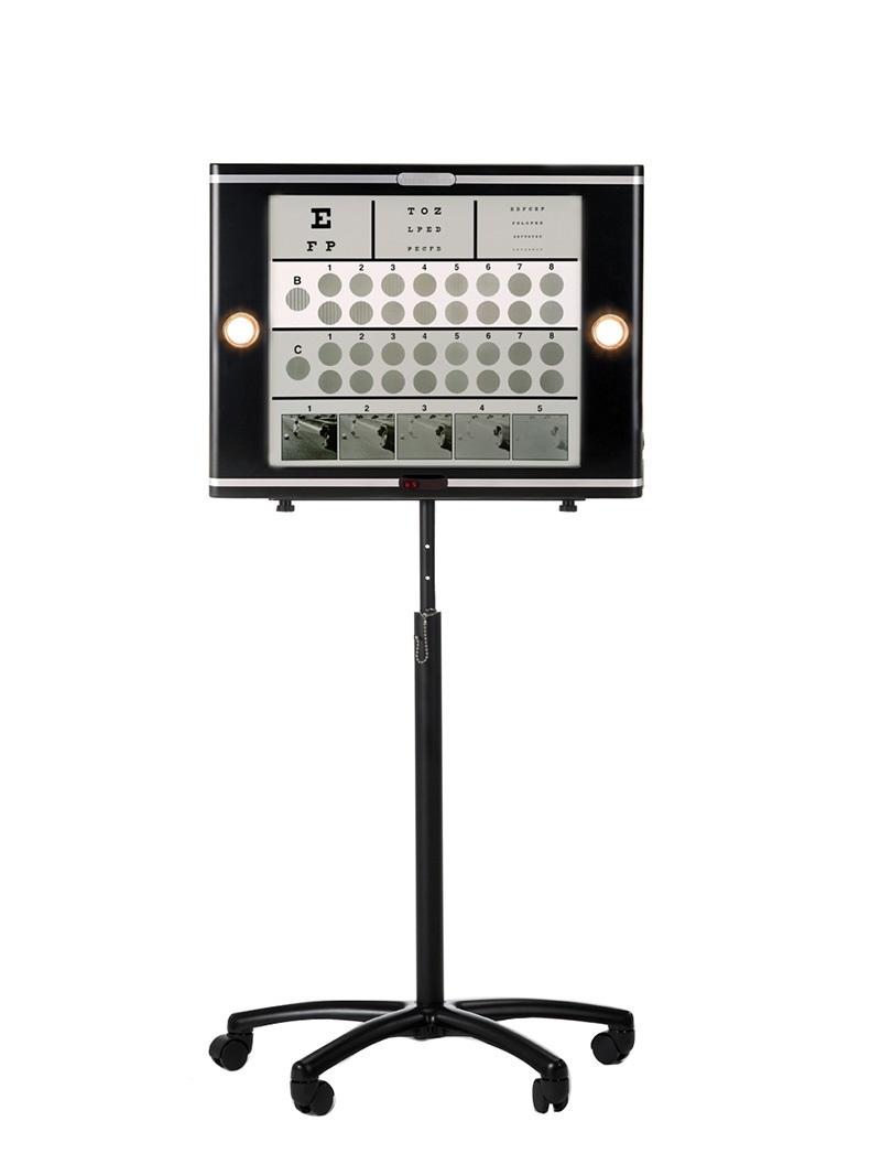 グレア内蔵型コントラスト感度測定器