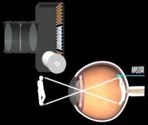 【画像】網膜とカメラ_Copyright ®iCeye